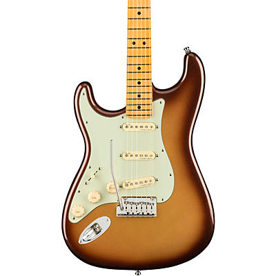Fender American Ultra Stratocaster Maple Fingerboard Left-Handed Electric Guitar