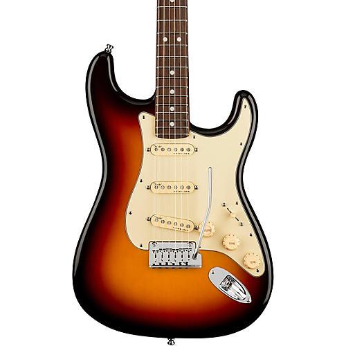 Fender American Ultra Stratocaster Rosewood Fingerboard Electric Guitar Ultraburst