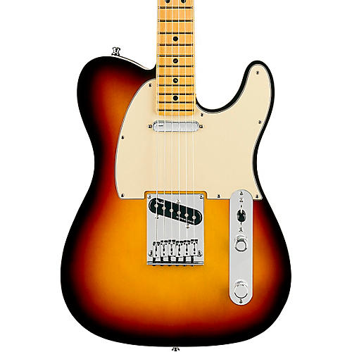 Fender American Ultra Telecaster Maple Fingerboard Electric Guitar Ultraburst