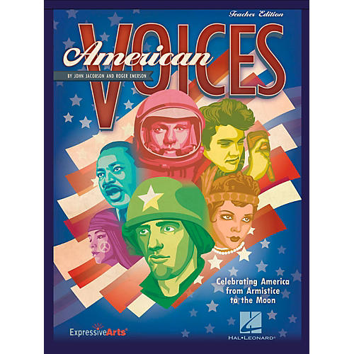 Hal Leonard American Voices Celebrating America from Armistice to the Moon - Student Edition 5-Pak