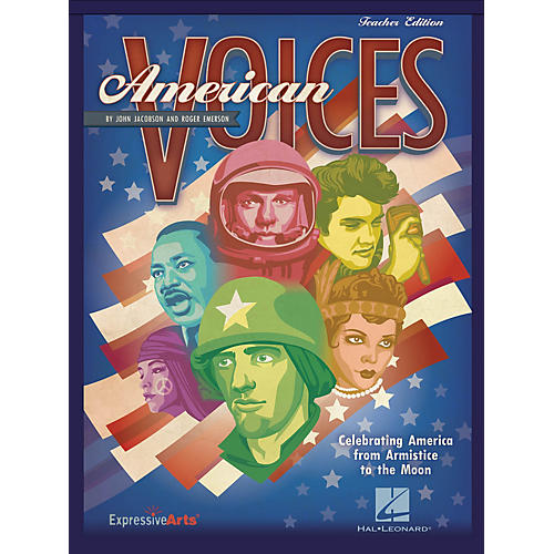 Hal Leonard American Voices (Celebrating America from Armistice to the Moon) Preview Pak Composed by John Jacobson