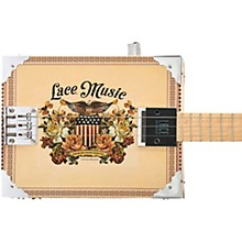 Americana Acoustic-Electric Cigar Box Guitar 3 string