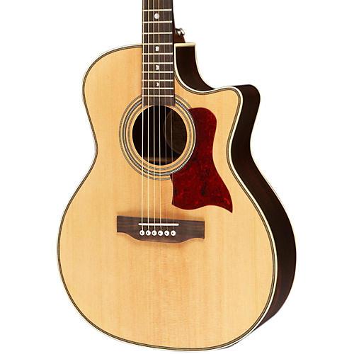 Luna Guitars Americana Classic AMF 100 Folk Cutaway Acoustic-Electric Guitar