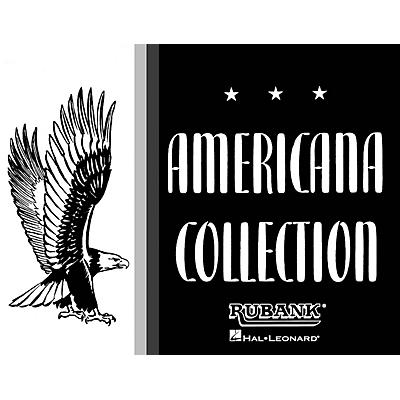 Rubank Publications Americana Collection for Band (Tenor Saxophone) Concert Band Composed by Various