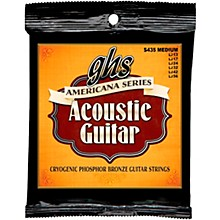 GHS Americana Medium Acoustic Guitar Strings (13-56)