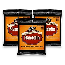 GHS Americana Medium Mandolin Strings (11-40) - 3 Pack