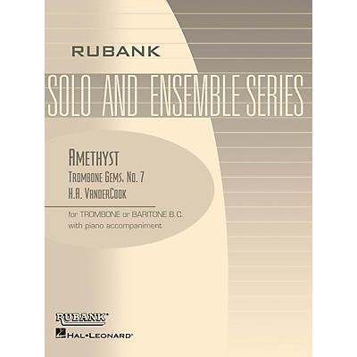 Rubank Publications Amethyst (Trombone (Baritone B.C.) Solo with Piano - Grade 3) Rubank Solo/Ensemble Sheet Series