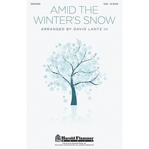 Shawnee Press Amid the Winter's Snow SAB arranged by David Lantz III