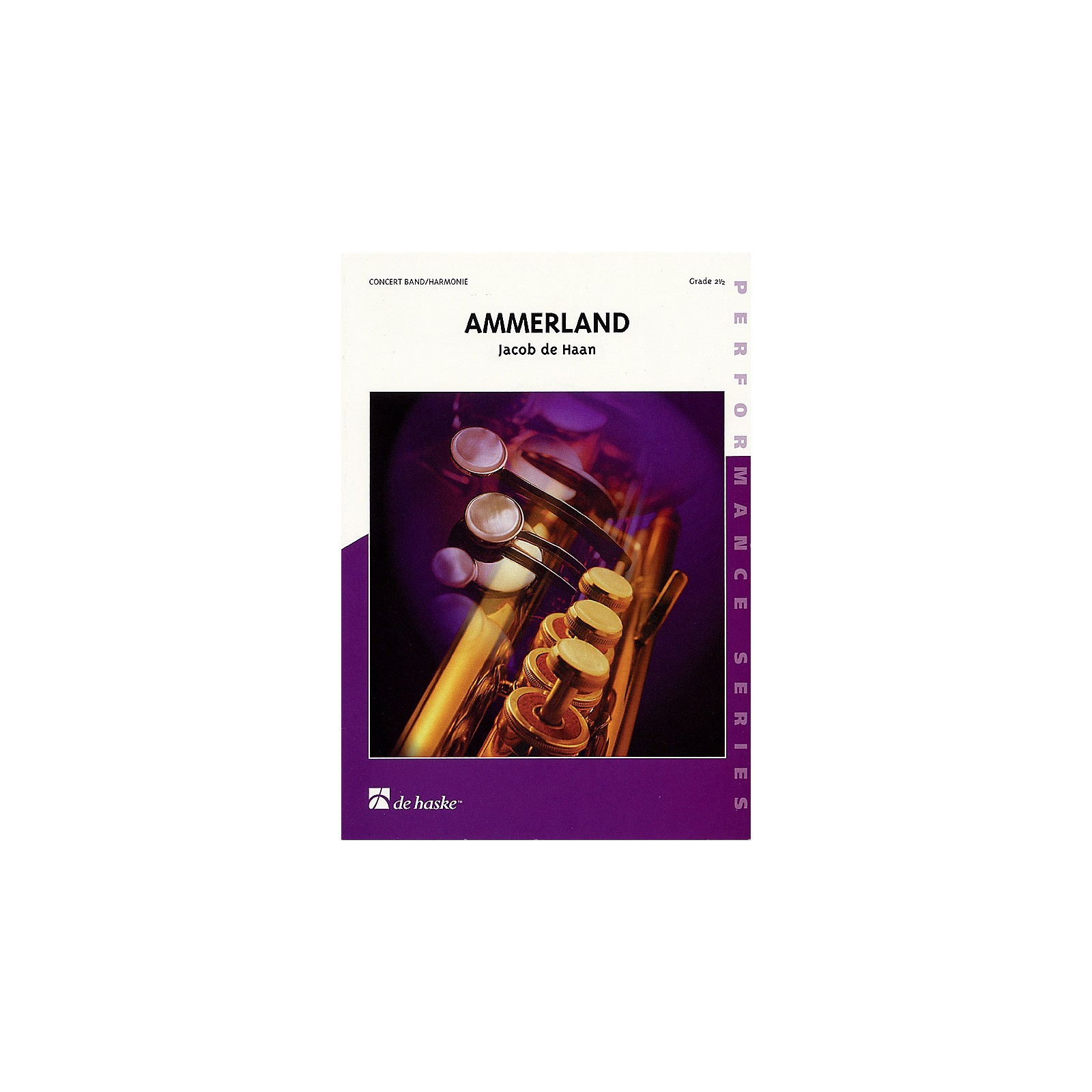 De Haske Music Ammerland (Score Only) Concert Band Level 3