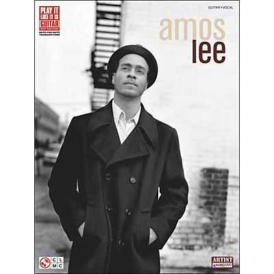 Cherry Lane Amos Lee Tab Book