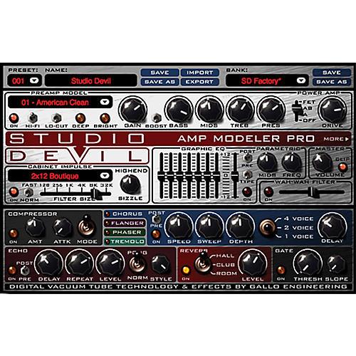 Studio Devil Amp Modeler Pro Software Download