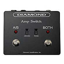 Diamond Amplification Amp Switch A/B/Y Amp Footswitch