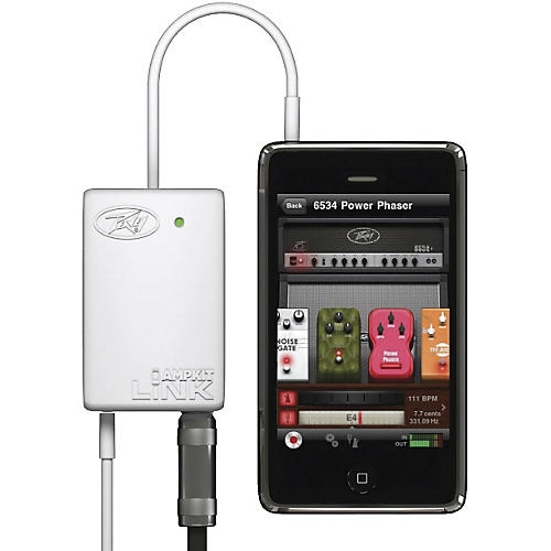 Peavey AmpKit LiNK HD Guitar Interface for iPhone
