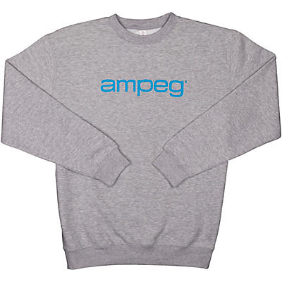 Ampeg Ampeg Lane Crew Neck Pullover-Grey