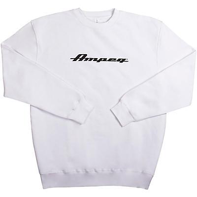 Ampeg Ampeg Lane Crew Neck Pullover- White