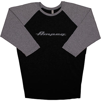 Ampeg Ampeg Raglan Black Sleeve Shirt - Grey
