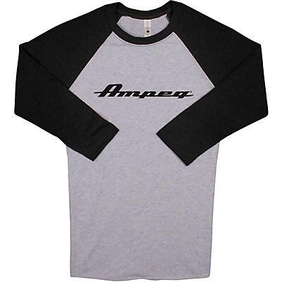 Ampeg Ampeg Raglan Black Sleeve Shirt - White