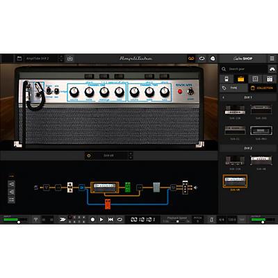 IK Multimedia Ampeg SVX 2 Amp Modeling Plug-in