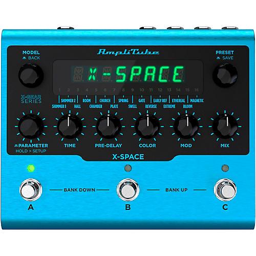 IK Multimedia AmpliTube X-SPACE Reverb Effects Pedal Blue