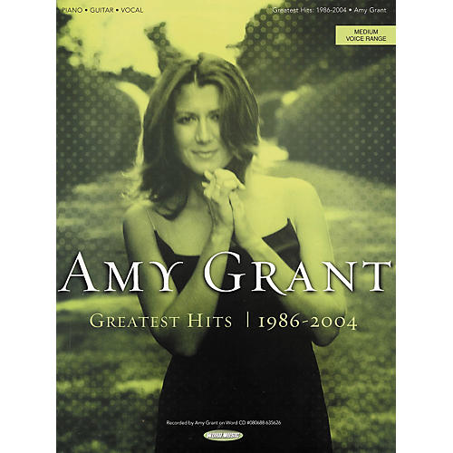 Hal Leonard Amy Grant - Greatest Hits 1986-2004 Piano/Vocal/Guitar Songbook
