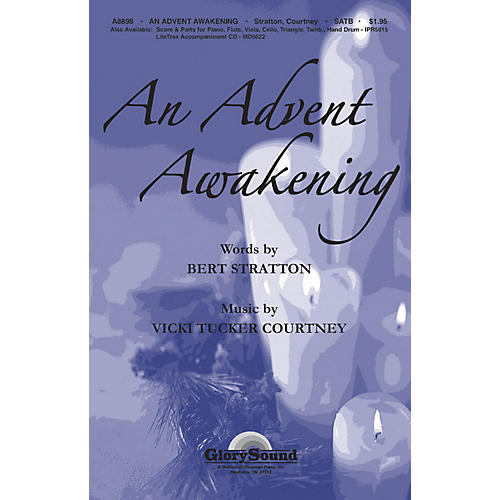 Shawnee Press An Advent Awakening SATB composed by Vicki Tucker Courtney
