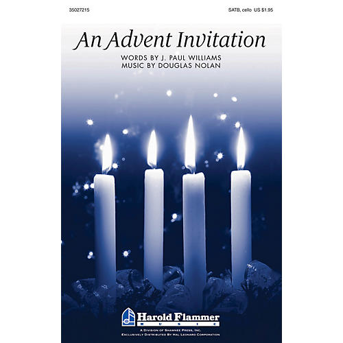 Shawnee Press An Advent Invitation SATB composed by J. Paul Williams