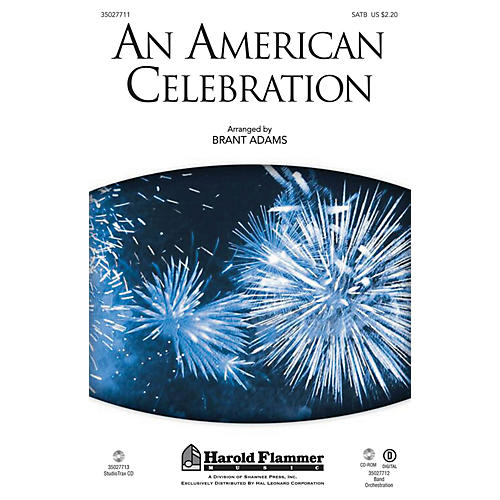 Shawnee Press An American Celebration SATB arranged by Brant Adams