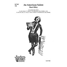 Hal Leonard An American Salute (Choral Music/Octavo Secular 2-par) TB Composed by Riley, Shari