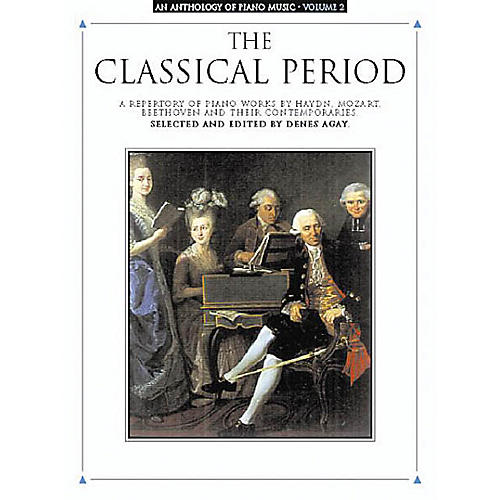 Music Sales An Anthology of Piano Music Volume 2: The Classical Period Yorktown Series Softcover