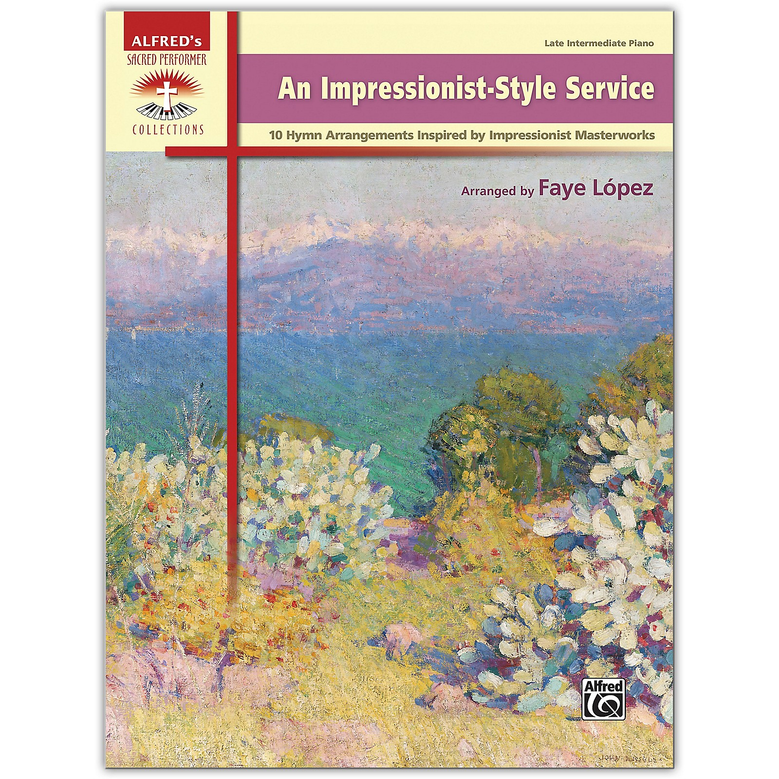 Alfred An Impressionist-Style Service Book Late Intermediate
