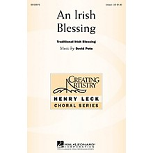Hal Leonard An Irish Blessing UNIS composed by David Pote