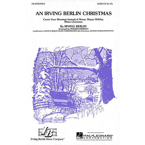 Hal Leonard An Irving Berlin Christmas (Medley) 3-Part Mixed Arranged by Roger Emerson
