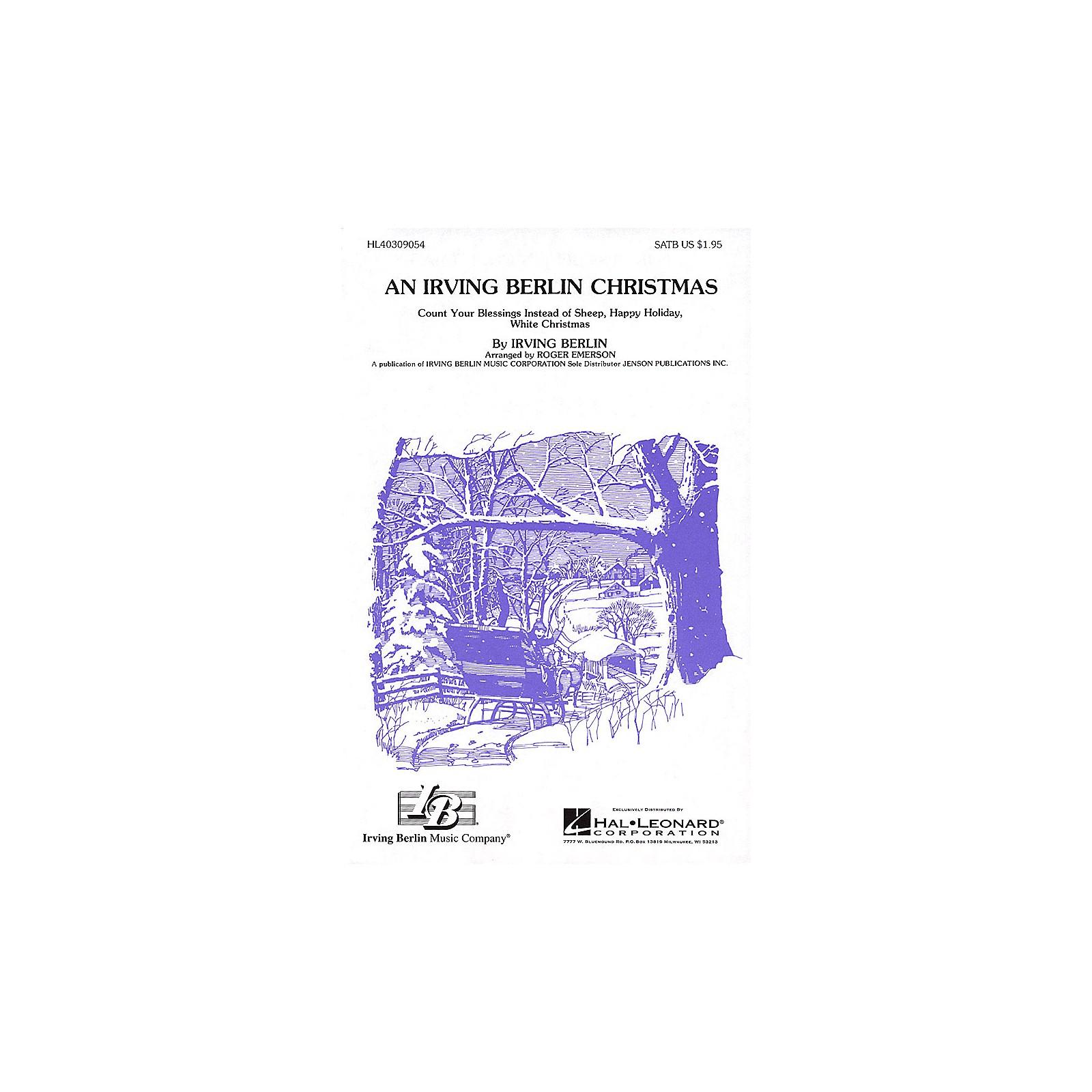 Hal Leonard An Irving Berlin Christmas (Medley) SSA Arranged by Roger Emerson