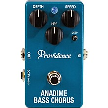 Open BoxProvidence Anadime Bass Chorus Pedals