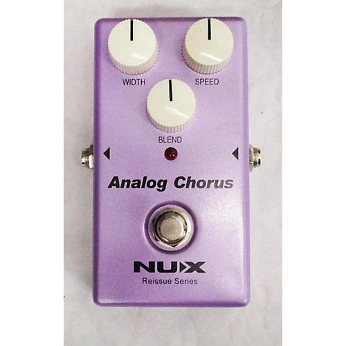 NUX Analog Chorus Effect Pedal