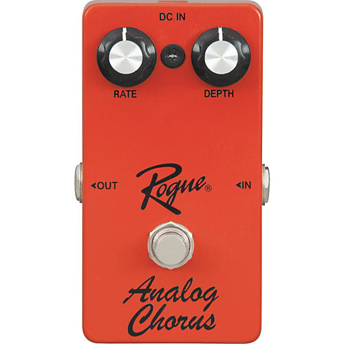 Rogue Analog Chorus Guitar Effects Pedal Condition 1 - Mint