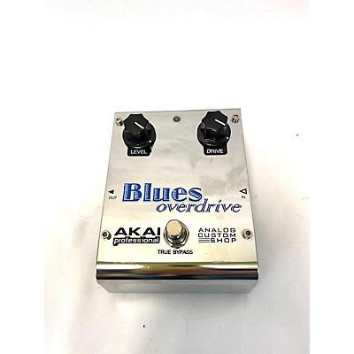 Akai Professional Analog Custom Shop Blues Overdrive Effect Pedal