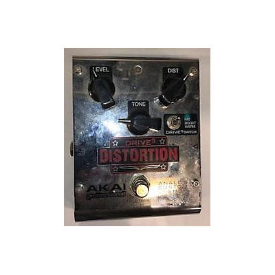 Akai Professional Analog Custom Shop Drive3 Tri-Mode Overdrive Effect Pedal