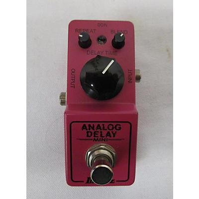 Ibanez Analog Delay Mini Effect Pedal
