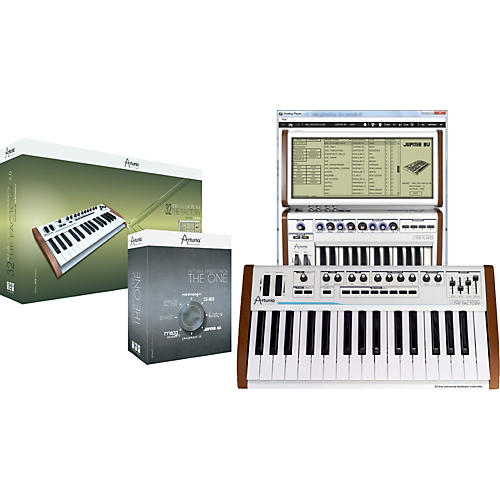 Arturia Analog Experience, The Factory + THE ONE bundle