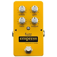 Open Box Empress Effects Analog Fuzz Guitar Effects Pedal