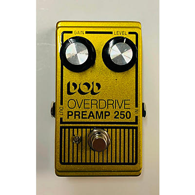 DOD Analog Overdrive Preamp 250 Effect Pedal