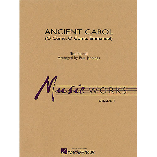 Hal Leonard Ancient Carol Concert Band Level 1 Arranged by Paul Jennings