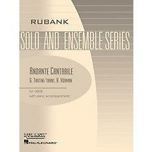 Rubank Publications Andante Cantabile (Oboe Solo with Piano - Grade 3) Rubank Solo/Ensemble Sheet Series