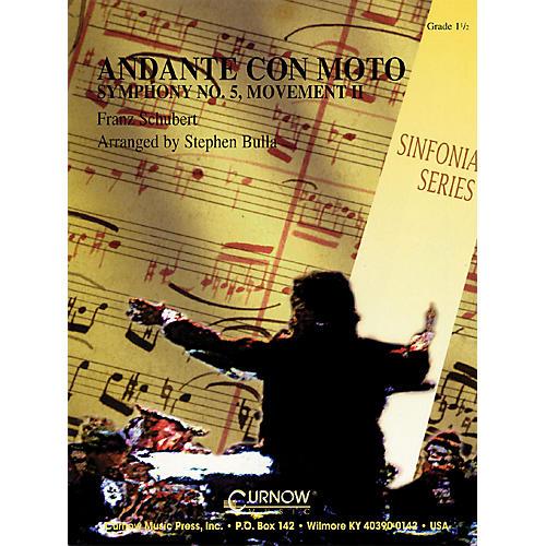 Hal Leonard Andante Con Moto (Grade 1.5 - Score Only) Concert Band Level 1.5 Arranged by Stephen Bulla