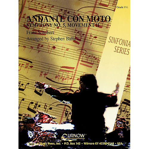 Curnow Music Andante Con Moto (Grade 1.5 - Score and Parts) Concert Band Level 1.5 Arranged by Stephen Bulla