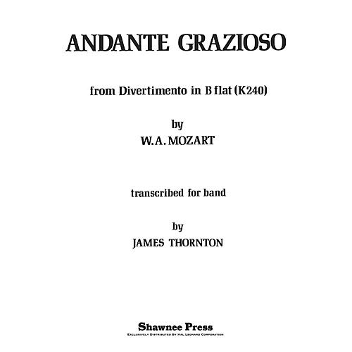 Shawnee Press Andante Grazioso Concert Band Level 2 1/2 Arranged by Thornton