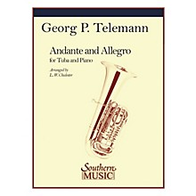 Southern Andante and Allegro Southern Music Series Composed by Georg Philipp Telemann Arranged by L.W. Chidester