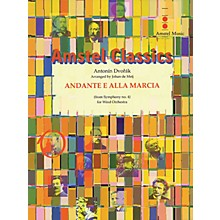 Amstel Music Andante e Alla Marcia (from Symphony No. 4) (Score Only) Concert Band Level 4 Arranged by Johan de Meij