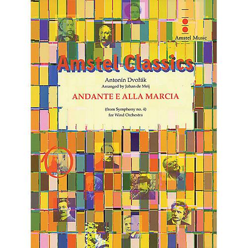 Amstel Music Andante e Alla Marcia (from Symphony No. 4) (Score Only) Concert Band Level 4 Arranged by Johan de Meij